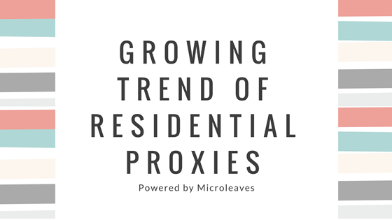 Residential Proxies