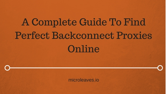 find Backconnect Proxy