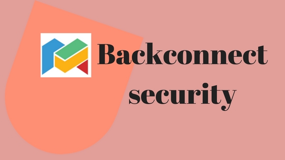 Backconnect security