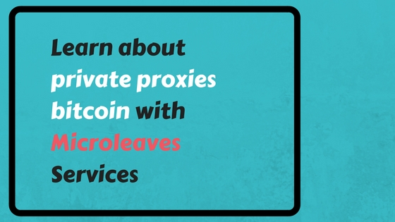 private proxies bitcoin