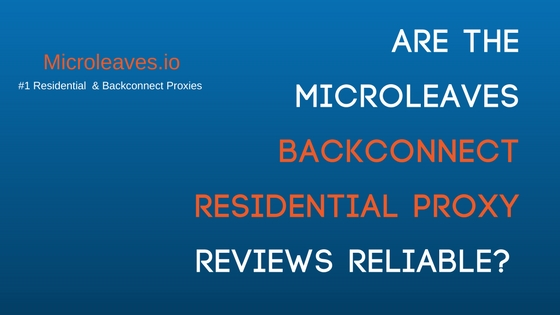 Residential Proxies reviews