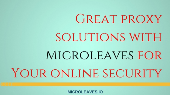Microleaves for Your online security