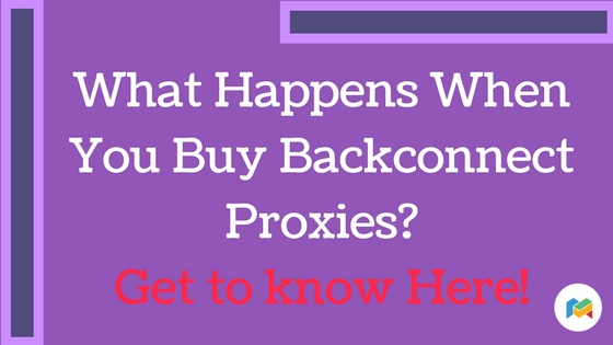 Buy Backconnect Proxies