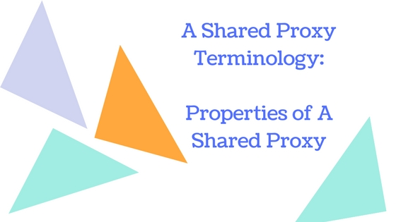 shared proxy