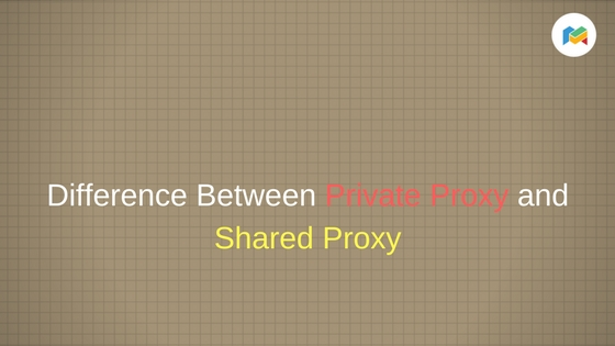 shared proxy