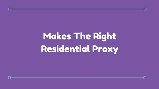 residential proxy