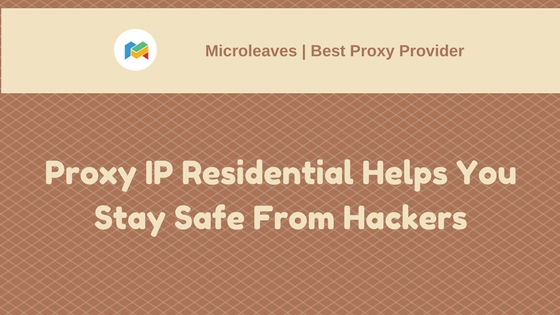 Proxy Ip Residential safe
