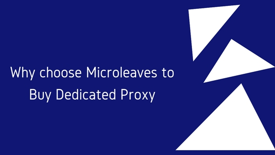 dedicated proxy microleaves