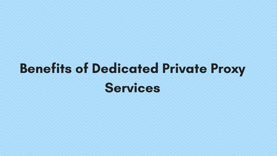 dedicated private proxy