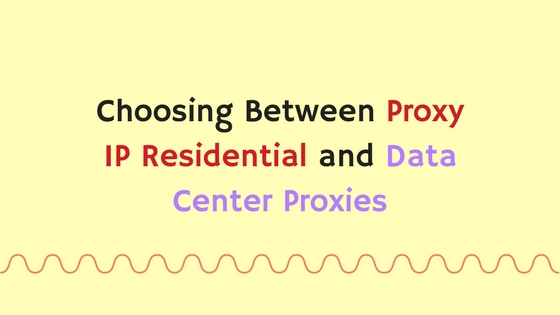 Datacenter proxy